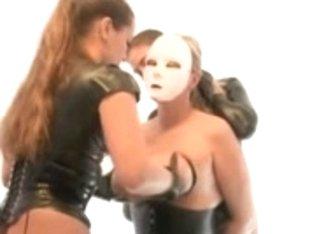 Big Boob Latex Lesbians!!!!!!!