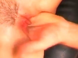 Dirty blonde MILF fucks boy in a hot anal s.ance