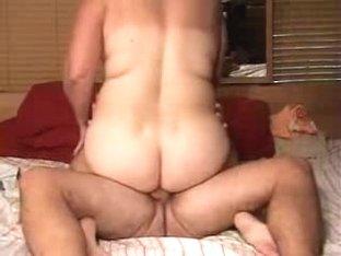 Chubby Slut Jerks Cock