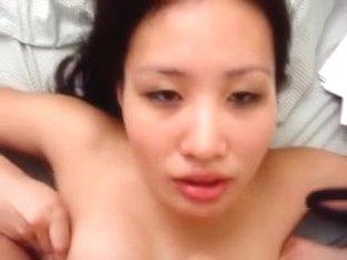 Oriental cum in throat