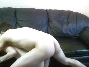 hot blonde fucked homemade standig doggystyle moans