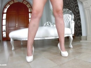 Gonzo style anal with hot Cherry Bright by Ass Traffic