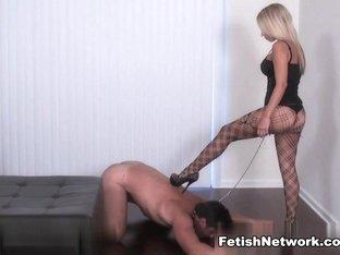 Horny pornstar in Exotic Femdom, Blonde adult clip