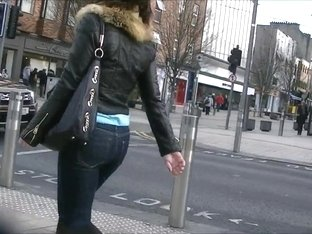 Candid tight jeans and boots