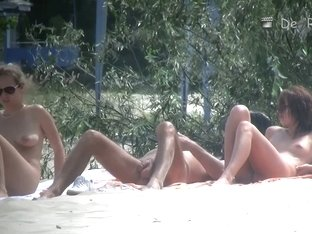 Naked chicks at the beach on beach voyeur spy cam compilation