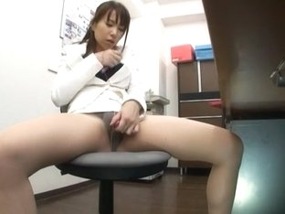 Exotic Japanese slut Reia Miyasaki in Horny Office, Dildos/Toys JAV video