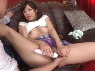 Amazing Japanese model Rino Nanase in Fabulous POV, Fingering JAV scene