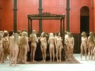A lot of nude girls
