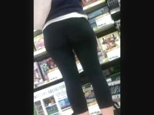 Candid Asses 10 (with sound -l ong clip special)