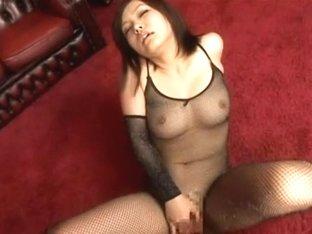 Horny Japanese slut Nao Ayukawa in Hottest Solo Girl, Masturbation/Onanii JAV scene