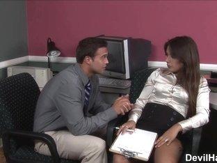 Jynx Maze in Office Seductions #02, Scene #03 - SweetSinner