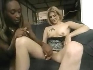 Hermaphrodite Dyke Surpises Black Woman With Her Dick Clit