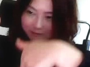 thirty yr old Korean lady showing off her meatballs