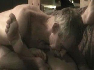 swallowing peaches in her silk nightie