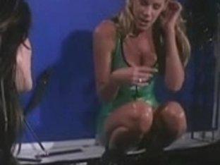 Hawt hot bitches in a lesbo SADOMASOCHISM den