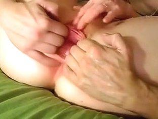 Fisting biggest wet crack