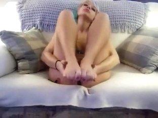 goth feet tease