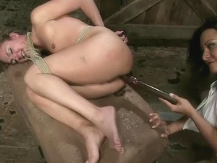 Crazy fetish, anal xxx scene with best pornstars Lexi Love and Sandra Romain from Whippedass