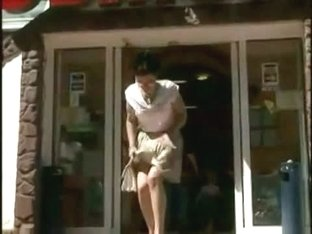Amazing candid upskirt voyeur video