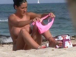 Nude Beach Dressing 2