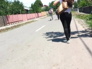 Same sexy girl go home from school 1