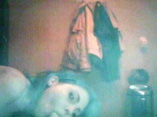 Student girl sucks on Hidden Cam