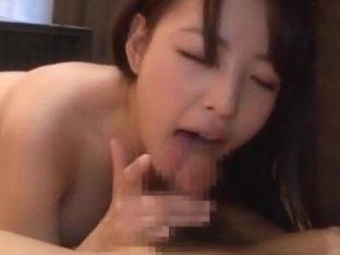 Iroha Sagara Asian amateur enjoys giving a hot head fuck