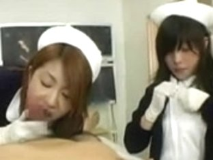 CENSORED Japanese Nurse helps a patient