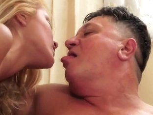 Blonde babe Chary is fucking with her man