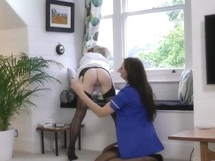 Tongued heeled slut sucks