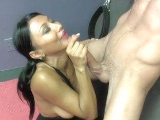 Sex Therapist Jasmine Shy 4 Preview LARGE BAZOOKAS TUGJOB STOCKINGS