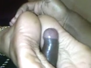 juvenile Indian footjob heeljob