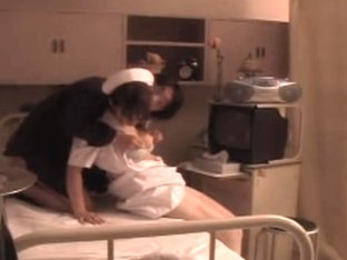 Japanese hardcore sex video with a pretty Asian nurse