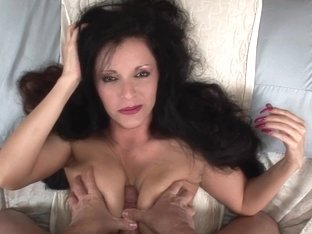 Beautiful MILF Sucks And Rides Cock