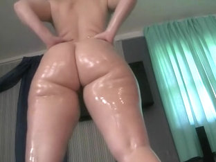 Oiling and shaking my ass