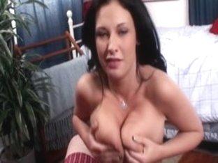 Crazy pornstar Bella Blaze in horny blowjob, big tits porn video