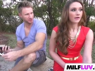 Big ass MILF Sarah Miller gets fucked