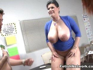 Best pornstars Jessica Robbin, Ms. Castro, Angelina Castro in Fabulous College, Big Tits xxx video