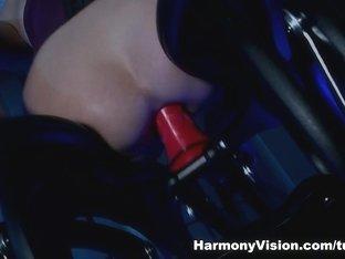 Horny pornstar Cathy Heaven in Best Fingering, Facial sex scene