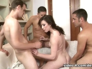 Amazing pornstars Chad Diamond, Alex Gonz, Jennifer White in Horny Anal, DP adult scene