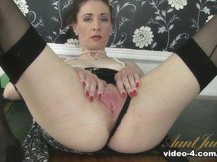 Crazy pornstar in Fabulous Masturbation, Mature sex scene