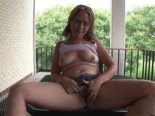 Crazy pornstar in exotic striptease, voyeur porn scene