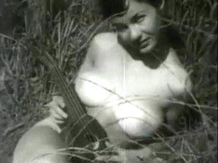 Ukulele in a Field