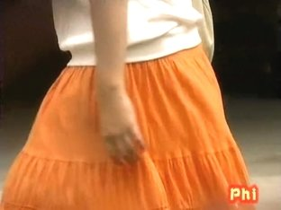 Confused short-haired Japanese tart exposes her hairy snatch during sharking affair