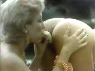 Exotic black vintage movie with Fanny and Melody Gerdon