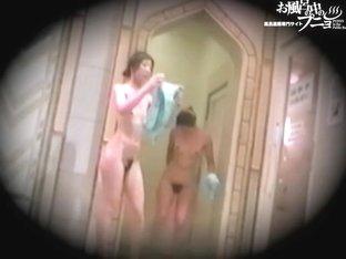 Slender Asian fems perform hairy pussies erotica in shower dvd 03137