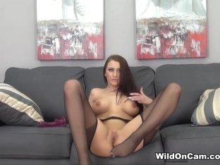 Crazy pornstar Alexis Grace in Incredible Masturbation, Redhead porn scene