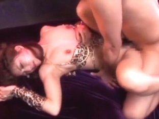 Horny Japanese model Kaho Kasumi, Akiho Yoshizawa, Yuna Mizumoto in Incredible Rimming, Lingerie J.