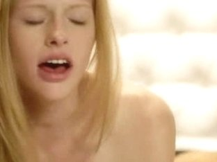 Beautiful blonde Avril fucked in room