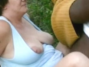 Granny dogging cuck cpl creampie finish part three